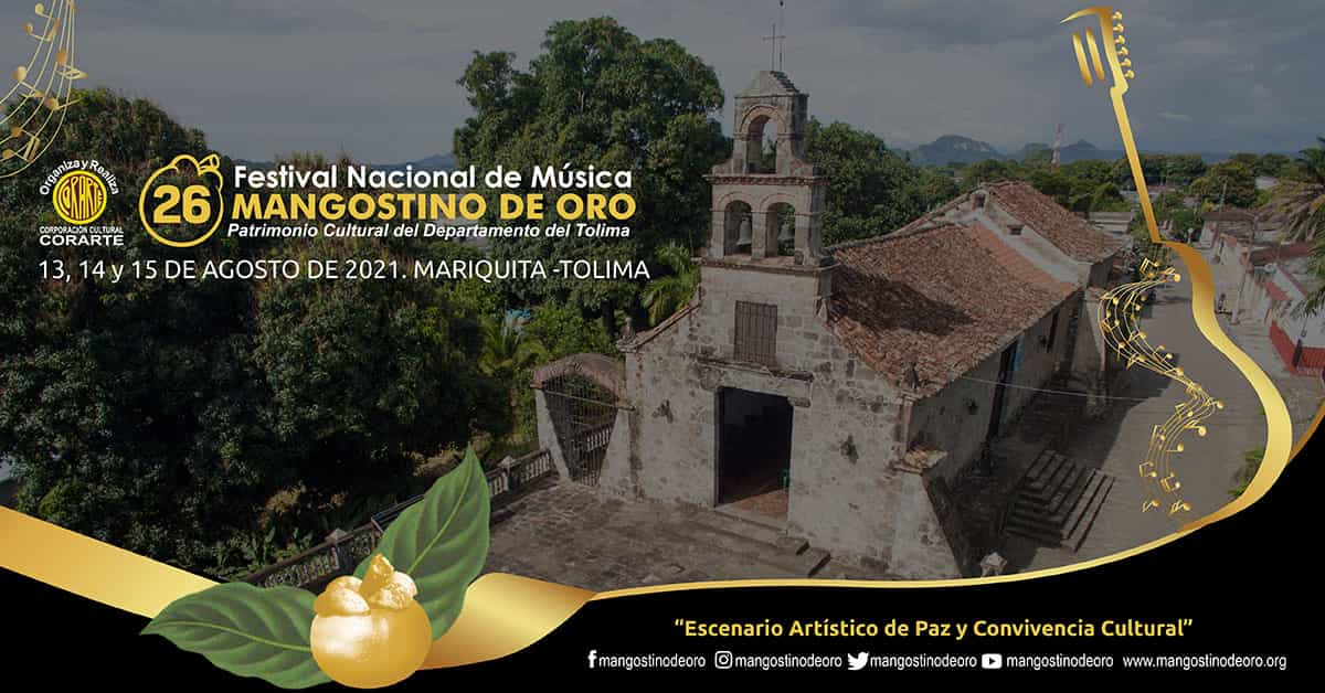 Llega el concierto de lanzamiento del Festival Nacional Mangostino de Oro 2