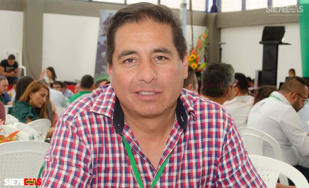 Rafael Ernesto Ramírez Valero, alcalde del municipio de Úmbita, se consolida en su cargo tras fallo judicial.  Foto: Luis Lizarazo - Archivo Boyacá Sie7e Días