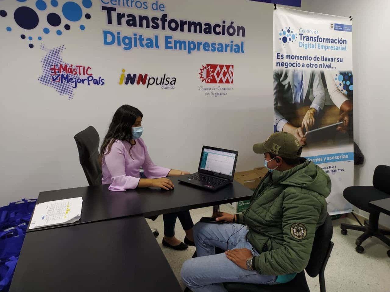 La Cámara de Comercio de Sogamoso finaliza una segunda fase de su Centro de Transformación Digital Empresarial (CTDE) 3