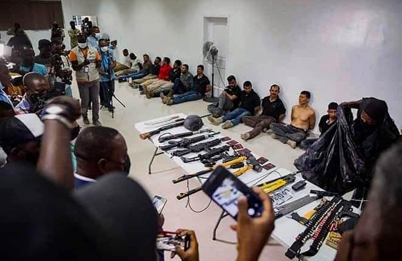 Los exmilitares boyacenses acusados del magnicidio en Haití 2