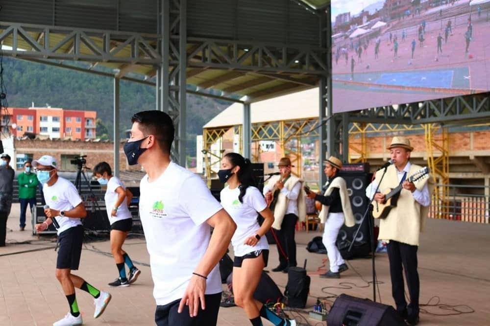 'Carrangafitness', el gran atractivo de las fiestas virtuales de Sogamoso #Tolditos7días 1