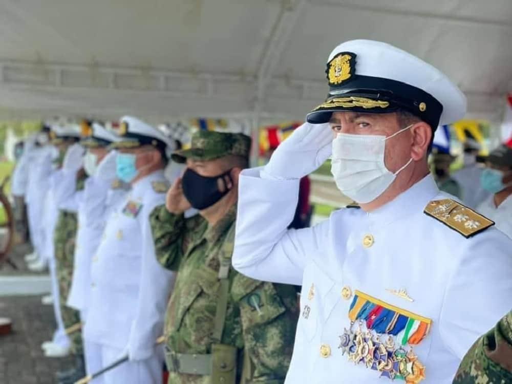 Un boyacense es el nuevo comandante de la Fuerza Naval del Sur 2