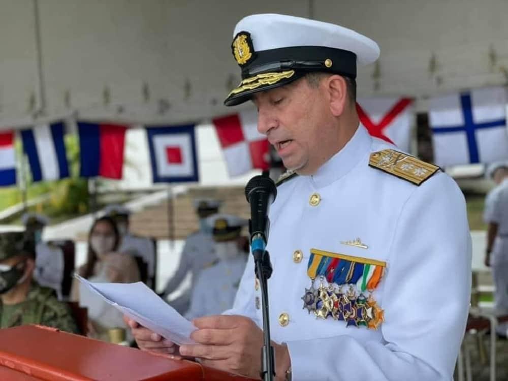 Un boyacense es el nuevo comandante de la Fuerza Naval del Sur 3
