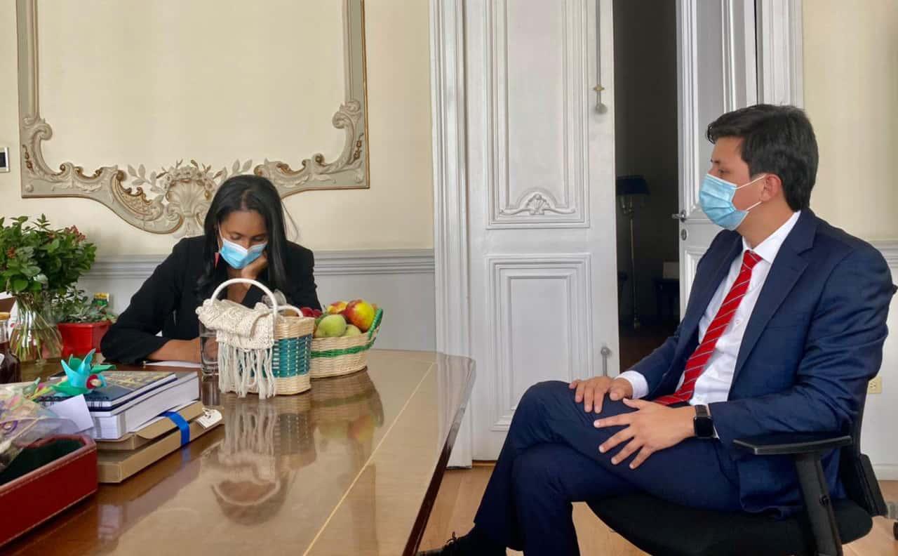 Ortega Gómez, se ha reunido con diferentes funcionarios del Gobierno nacional para adelantar gestiones en favor de Duitama.