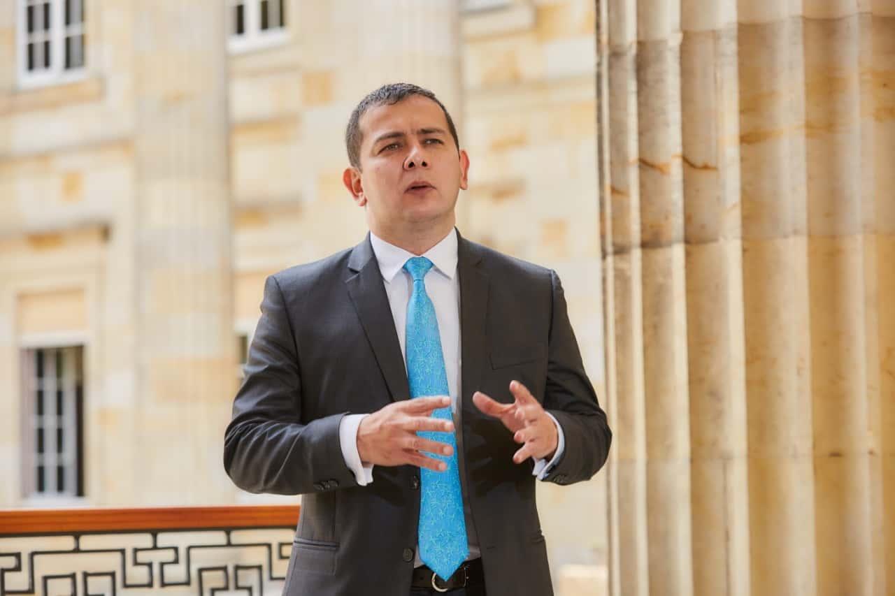Miguel Ángel Barreto, senador boyacense por el Partido Conservador. Foto: archivo particular