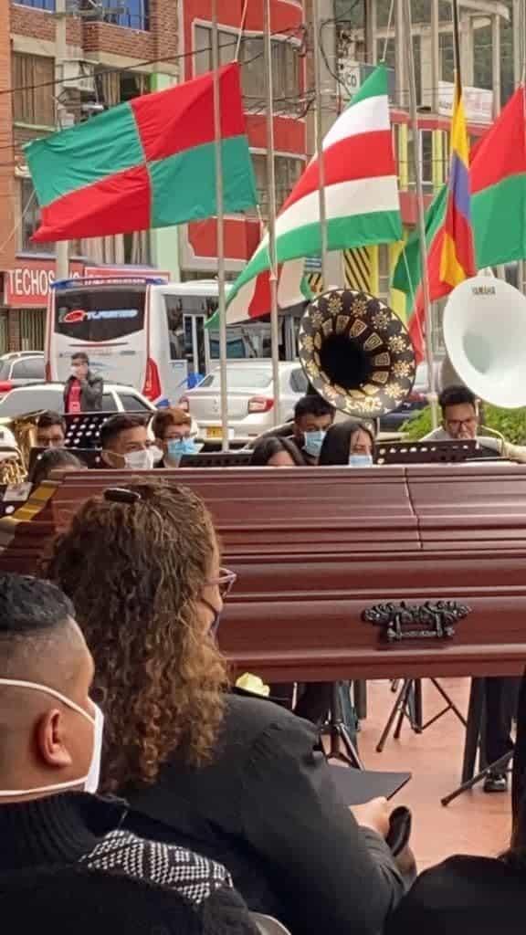 Así fue el último adiós a un maestro de maestros: el trompetista Juan Francisco Mancipe Núñez 2