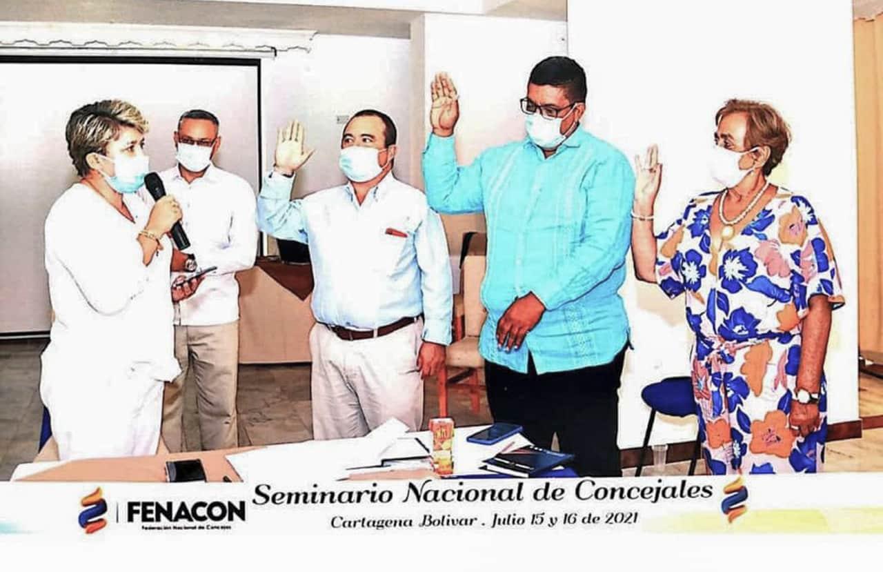 Concejal de Moniquirá nuevo vicepresidente de la Federación Nacional de Concejales 1