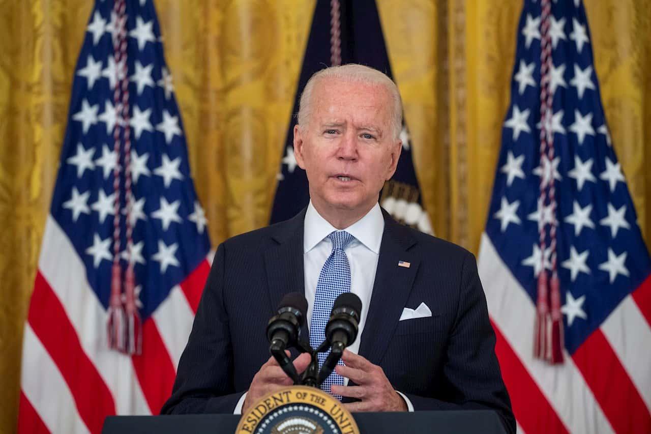 En la imagen, Joe Biden, presidente de EE.UU. EFE/EPA/SHAWN THEW