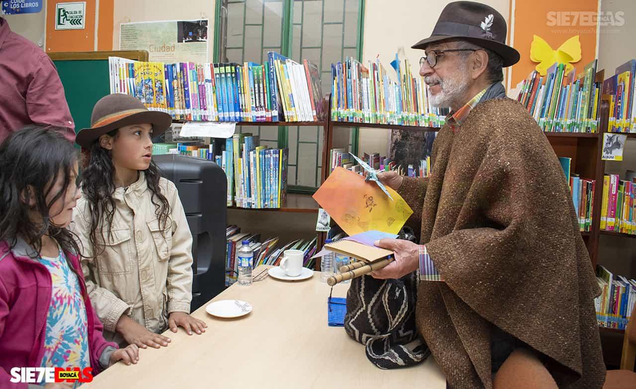 El juglar boyacense, de 71 años se refirió a su libro El convite de los animales, que ha sido muy bien recibido en todo el país.
