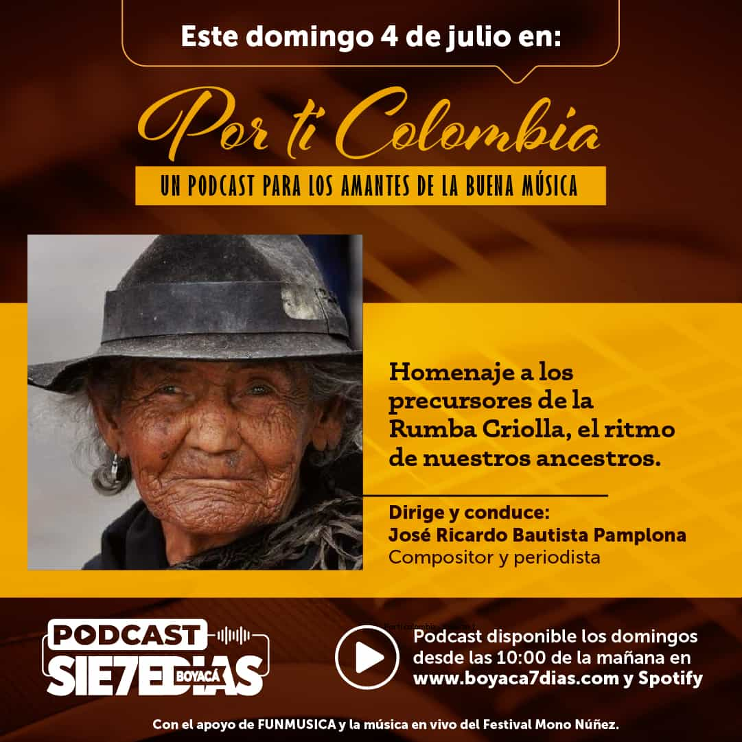 Por ti Colombia - Homenaje a los precursores de la rumba criolla 1