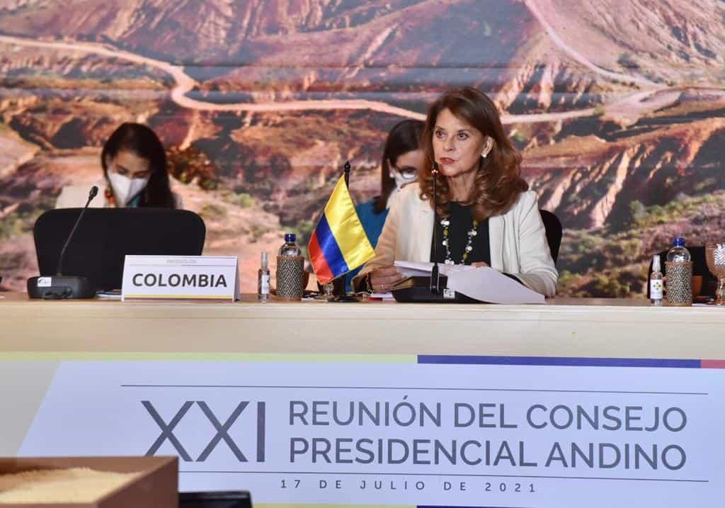 Evento de la CAN, previsto para Villa de Leyva, se hizo en Bogotá #Tolditos7días 1