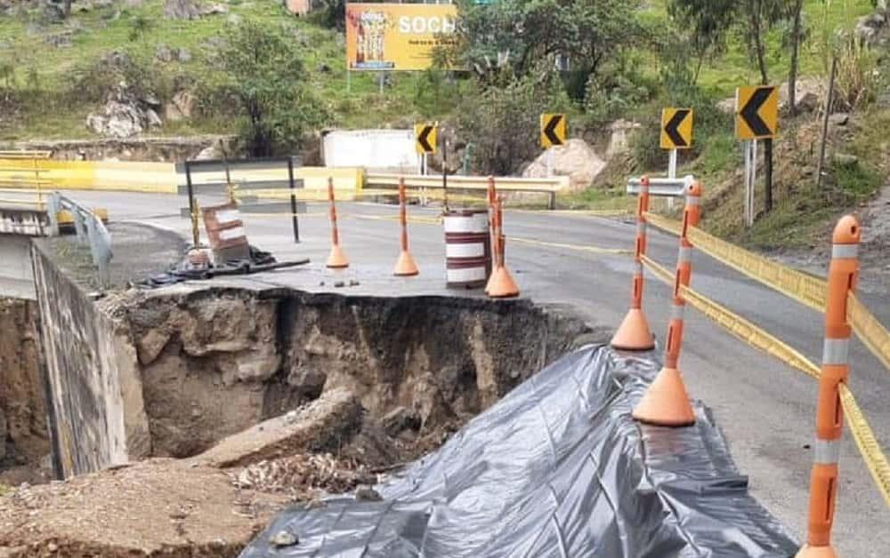 La provincia de Valderrama podría quedarse incomunicada por colapso de la Ruta de los Libertadores
