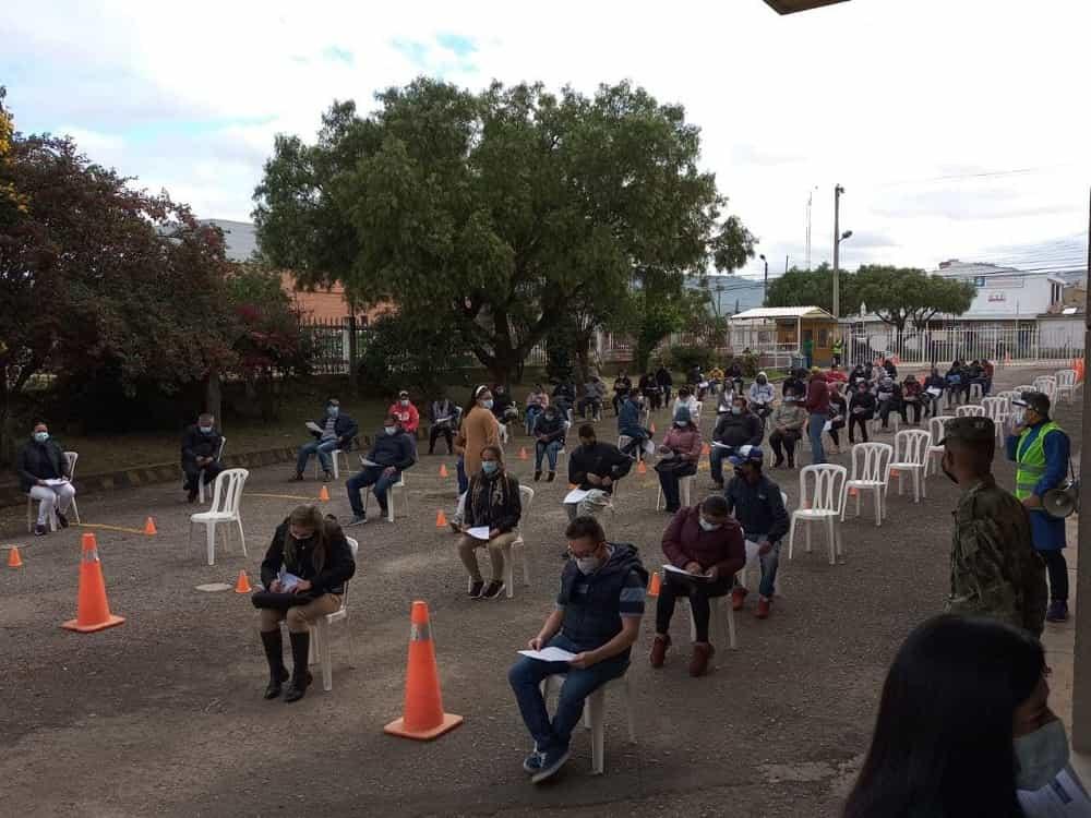 Vacunación abierta en Sogamoso contra el COVID-19, hoy y mañana 1