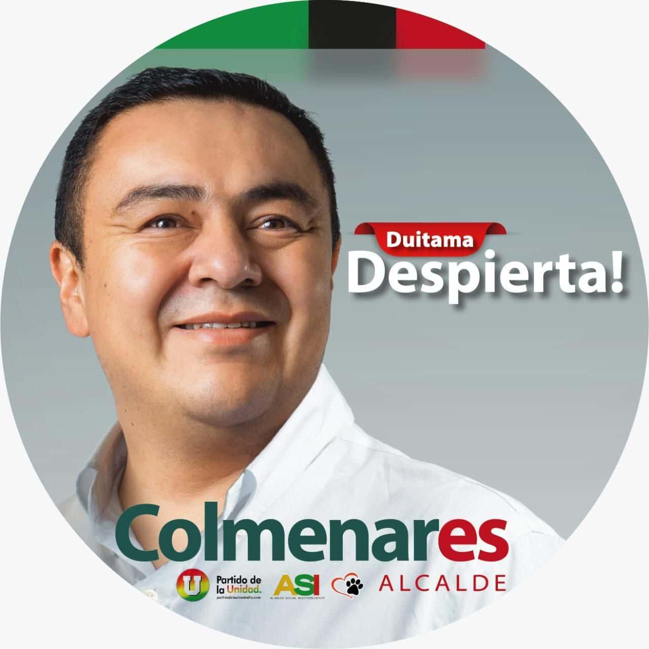 El candidato de Duitama Despierta ya ha presentado algunas de las piezas publicitarias de campaña que identificarán su campaña.