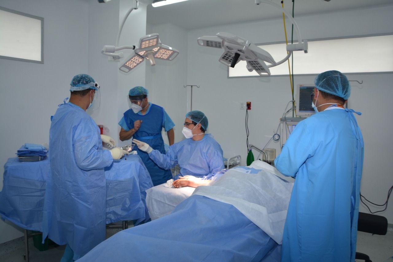 Adelantaron la primera cirugía en el Hospital Santiago de Tunja 1