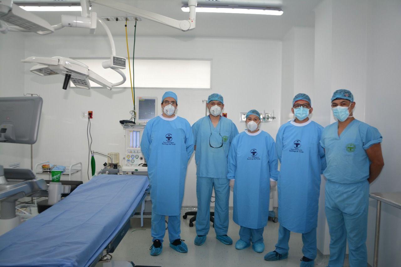 Adelantaron la primera cirugía en el Hospital Santiago de Tunja 2