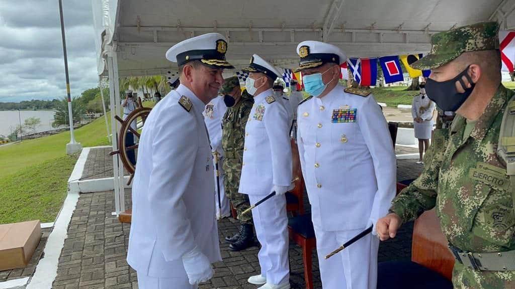 Un boyacense es el nuevo comandante de la Fuerza Naval del Sur 6