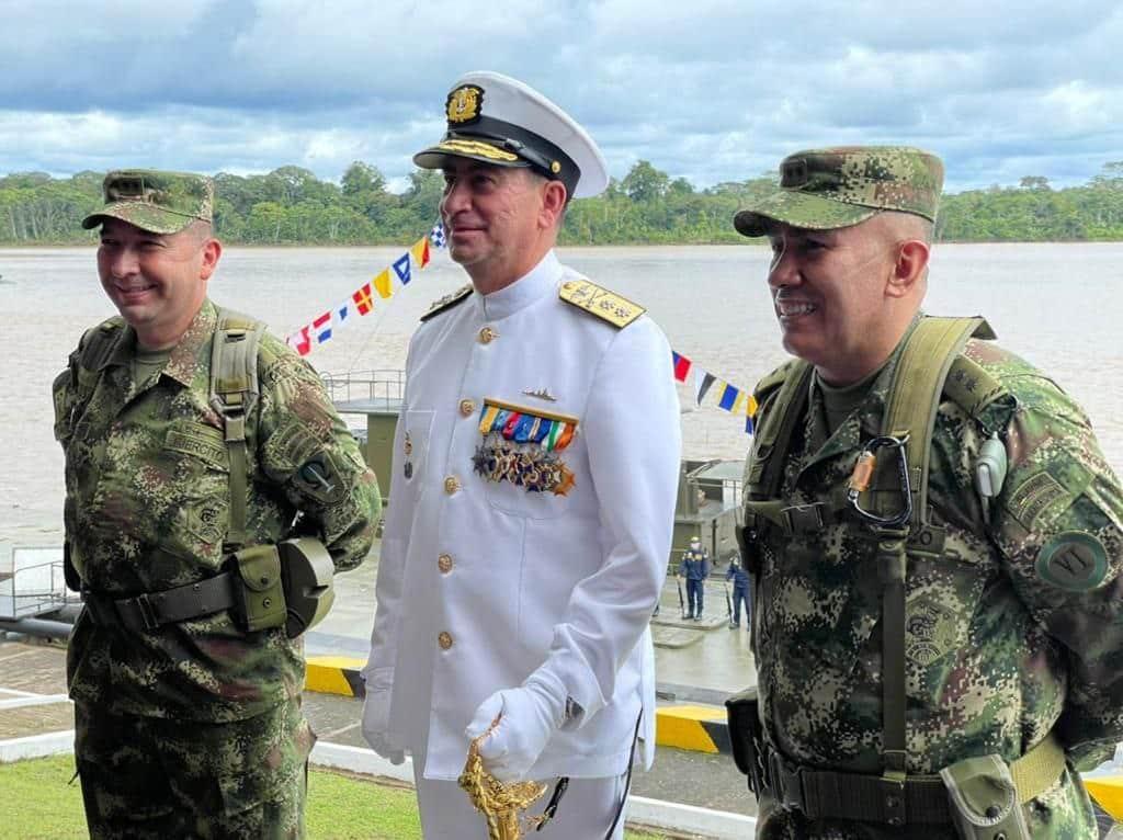 Un boyacense es el nuevo comandante de la Fuerza Naval del Sur 1