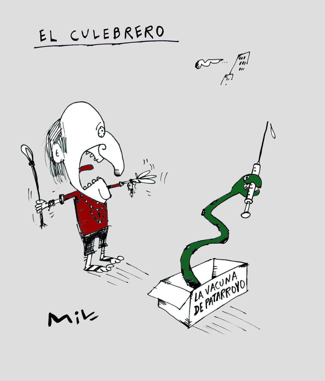 El Culebrero - #Caricatura7días 1