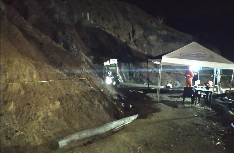 Sin vida fue rescatado uno de los trabajadores atrapados en mina de Boyacá 1