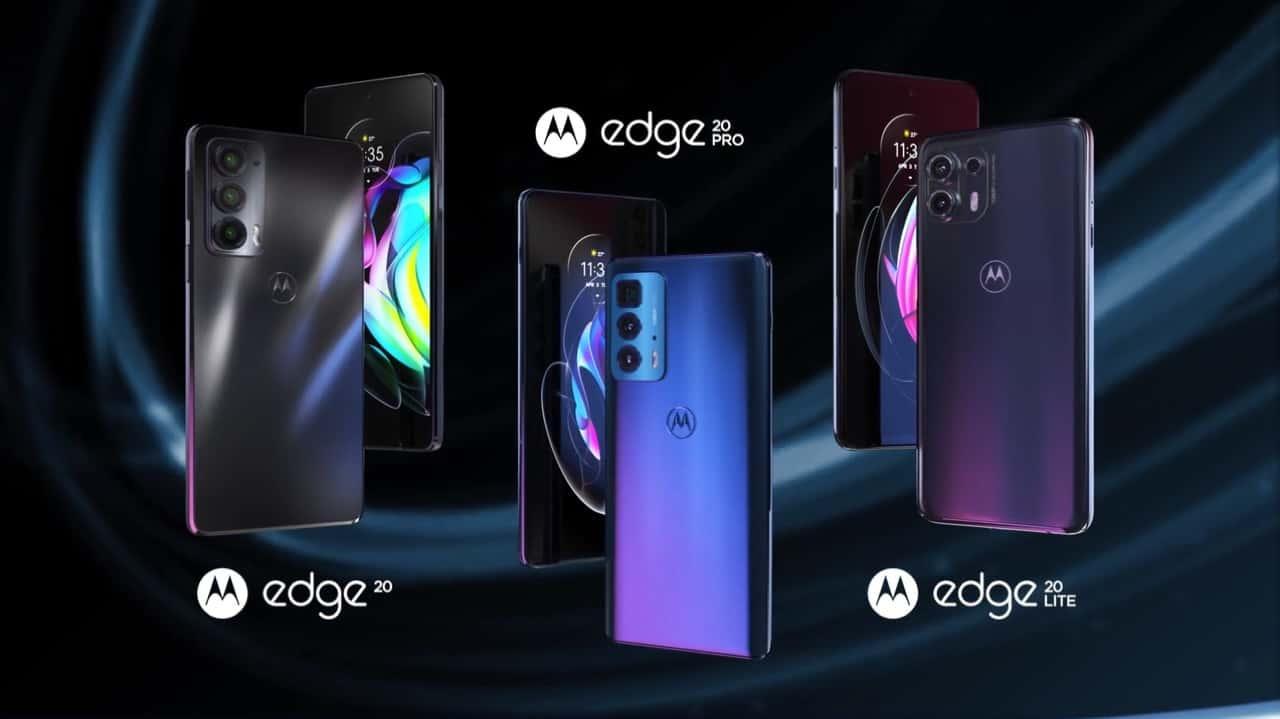 Motorola presentó hoy ante el mundo los nuevos teléfonos de la familia Edge Pro, Edge 20 y Edge 20 Lite 1