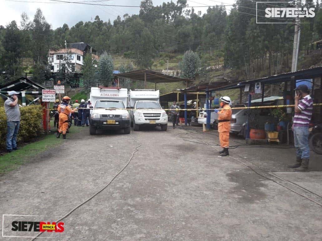 Rescatan a cuatro trabajadores muertos de mina en Boyacá. Siete más siguen desaparecidos 1