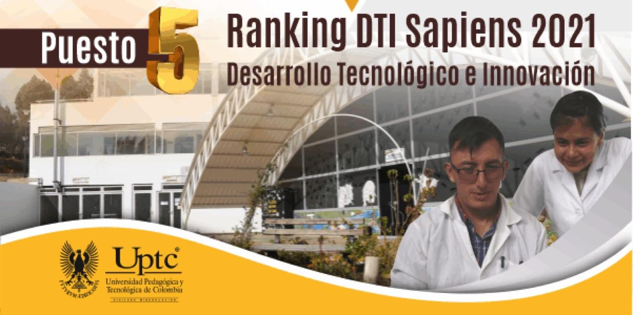 UPTC la quinta mejor universidad colombiana en Desarrollo Tecnológico e Innovación 1
