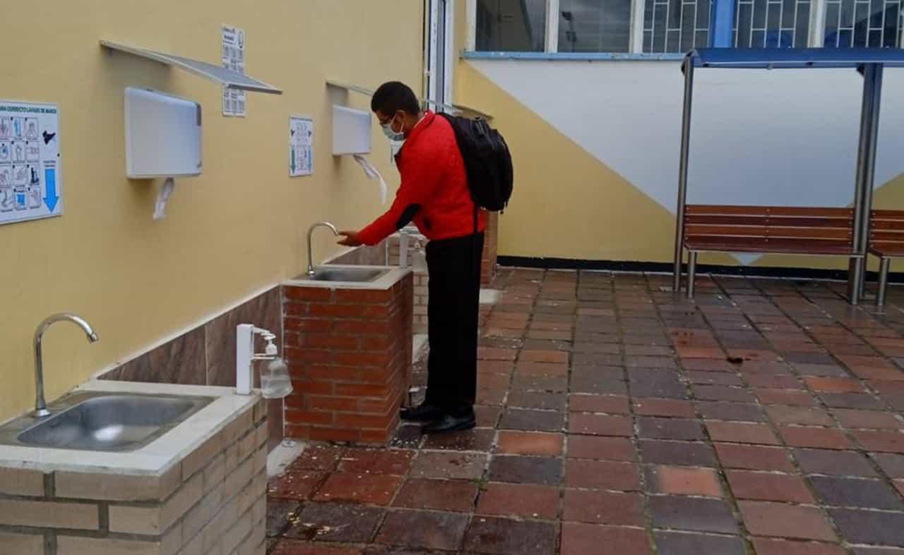 Se siguen extremando los controles y el apoyo a las instituciones educativas para minimizar brotes por coronavirus en los colegios de Paipa.