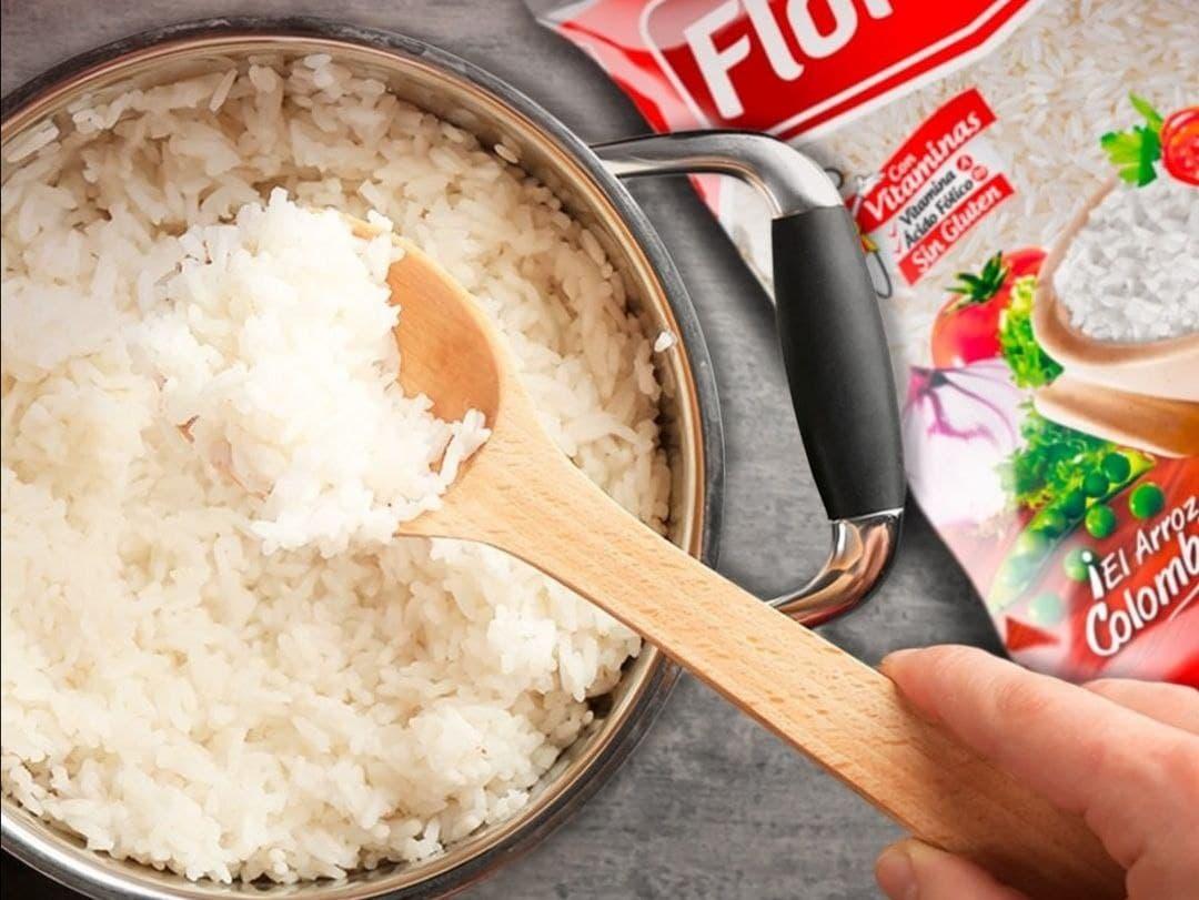 Florhuila fue el primer arroz en Colombia en empaquetarse para venderlo al consumidor final. Foto: archivo particular