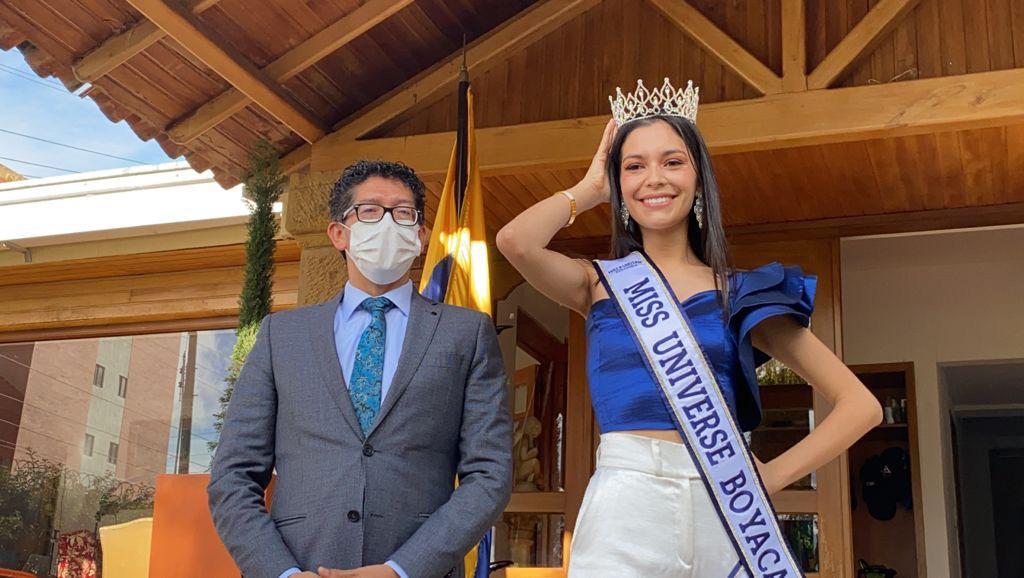 Camila Pinzón la nueva Miss Universe Boyacá 1