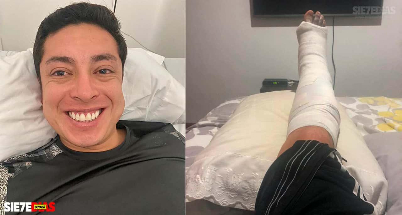 El personero de Coper se recupera de cirugía #Tolditos7días 1