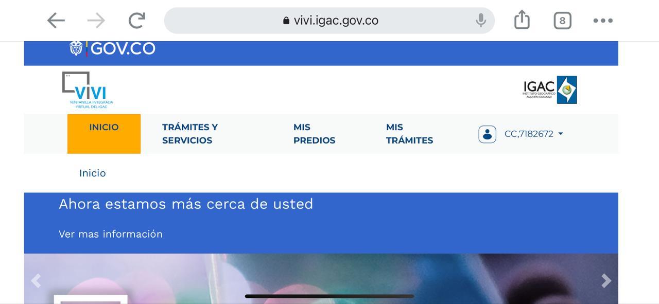 Así funciona la Ventanilla Virtual del Instituto Geográfico Agustín Codazzi para trámites catastrales 1