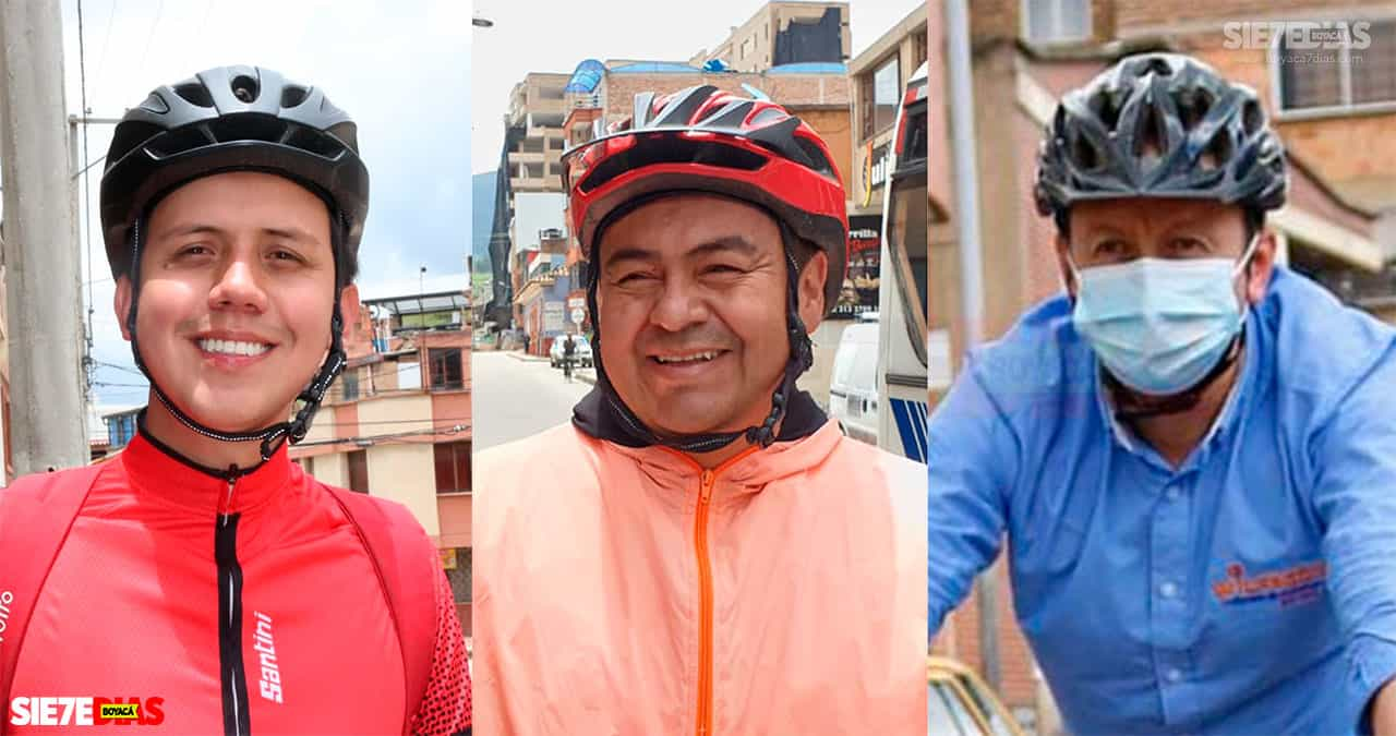 Hasta montar en bicicleta como estrategia de campaña #Tolditos7días 1