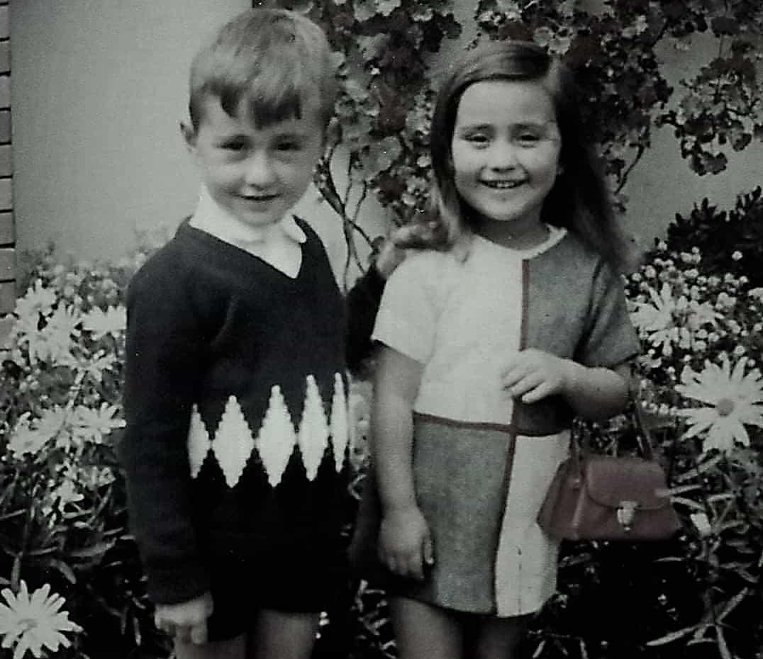 Humberto y Diana Monroy Uribe, los hermanos inseparables que hoy se distanciaron temporalmente. Fotografía archivo particular.