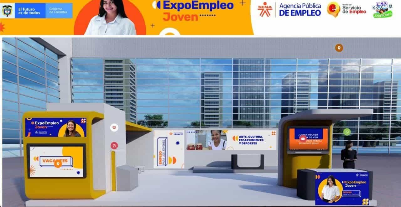 Hoy empieza 'Expoempleo joven' , la feria de empleabilidad juvenil más grande que se realiza este año en el país. Foto: archivo particular