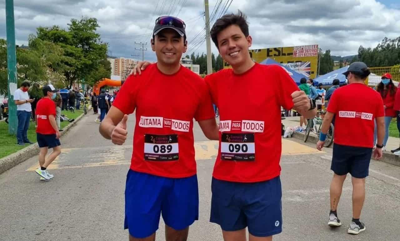 Los dos David arrancaron una maratón que terminará el 12 de septiembre #Tolditos7días 1