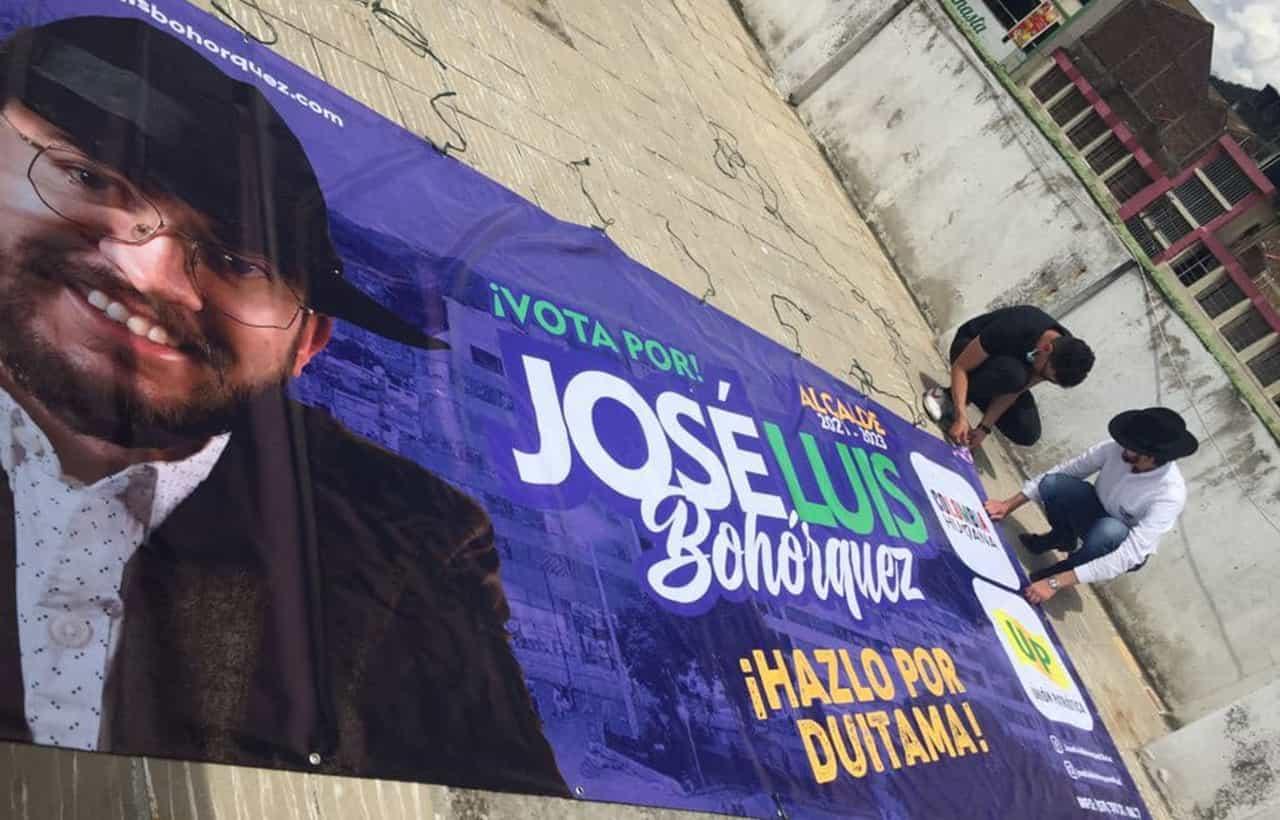 Otro que denuncia ataque de la Alcaldía de Duitama a su campaña: esta vez fue el aspirante de la Colombia Humana 1