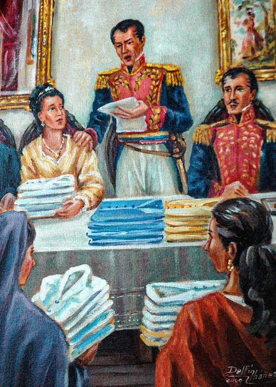 Siglo XIX  Doña Juana Velasco de Gallo