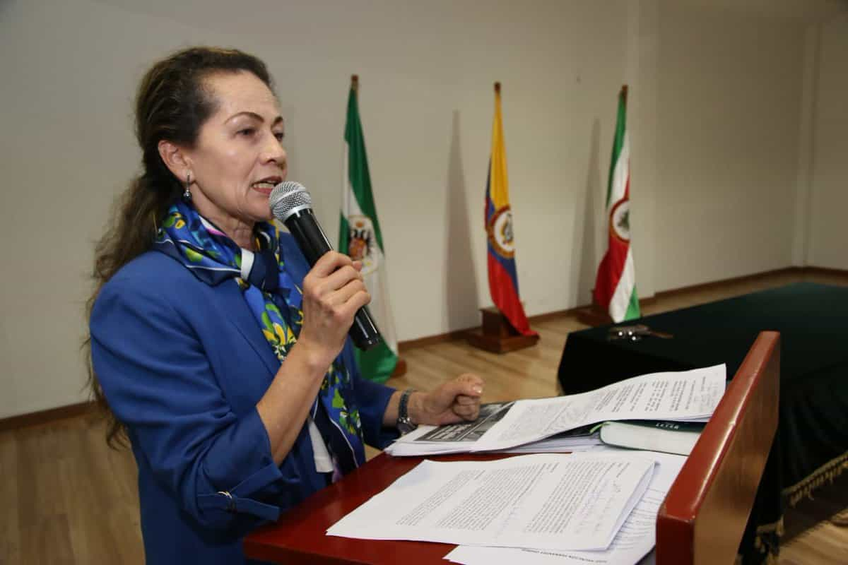 María Julia Figueredo Vivas, presidenta Capítulo Boyacá ICDP. Fotografía Archivo particular.