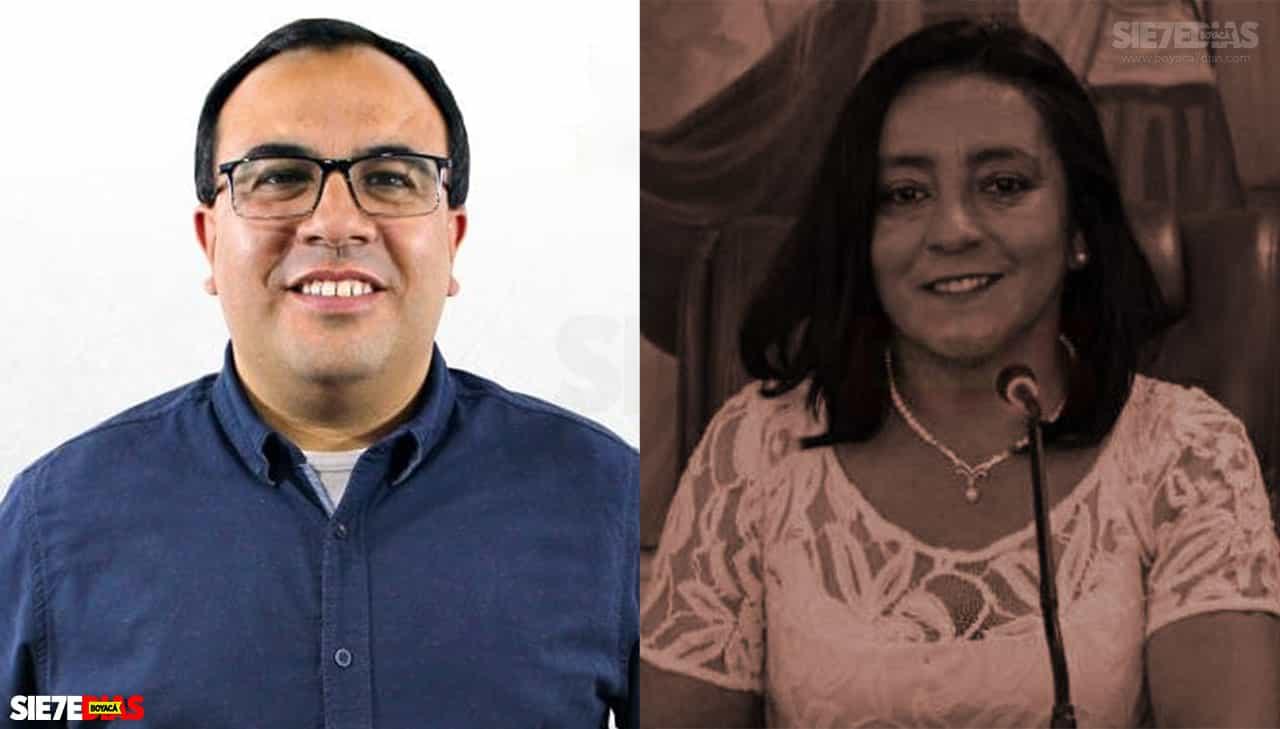 Milton Eduardo Peña Cañón y Rosalba Burgos. Fotos: archivo particular.