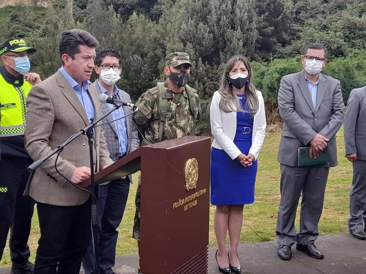 Los anuncios que hizo el ministro de Defensa en el Puente de Boyacá #Tolditos7días 1