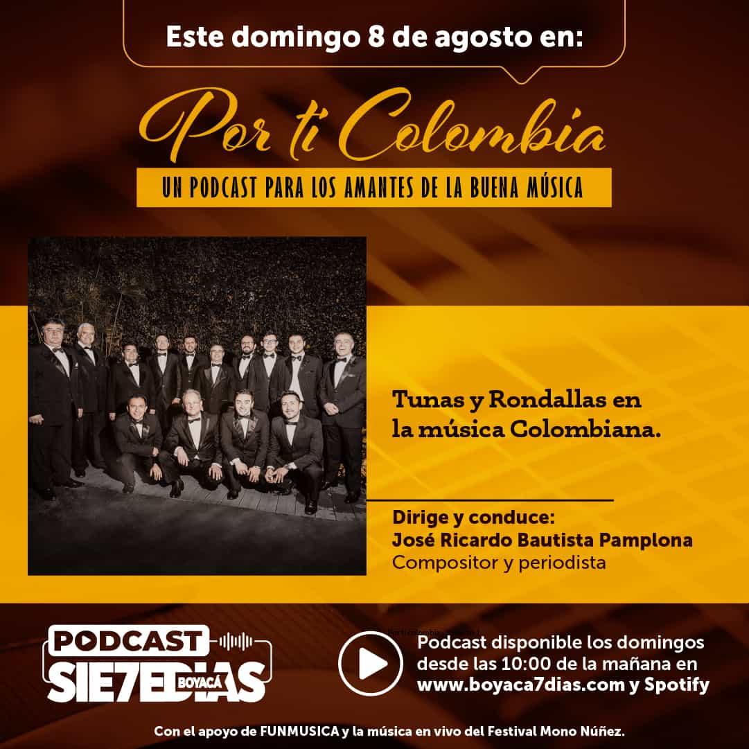 Por ti Colombia - Tunas y rondallas en la música colombiana 1