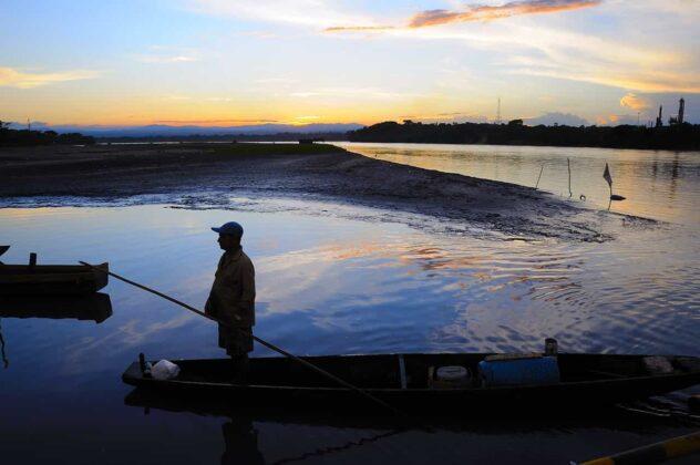 El río Magdalena, antiguamente también fue llamado río Grande de la Magdalena, o río Grande. Foto: cortesía Fermín Rivera Téllez