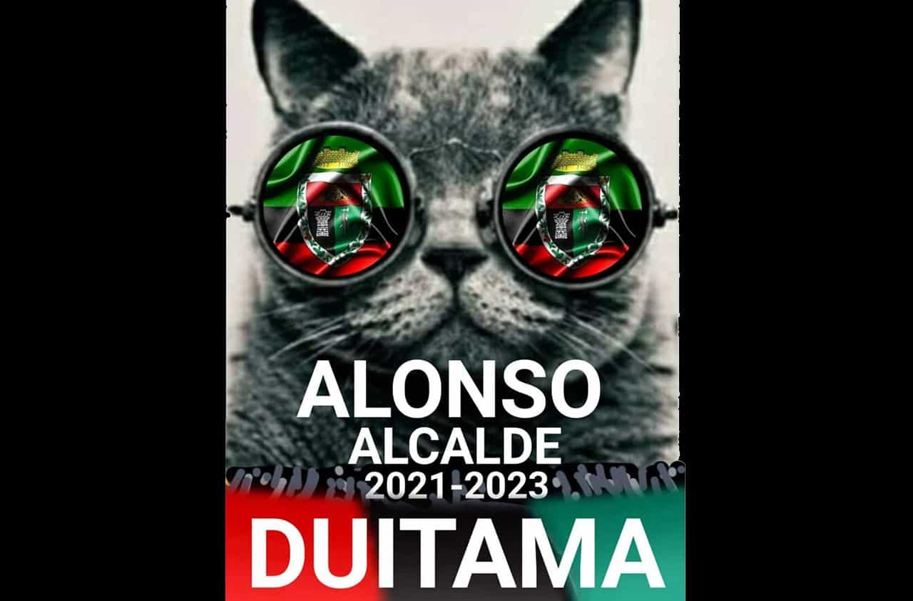 La muy particular publicidad de un candidato a la alcaldía de Duitama #Tolditos7días 1