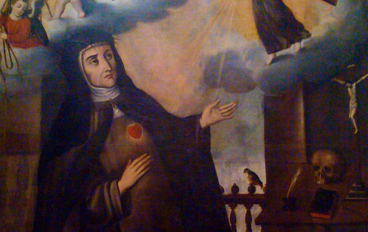 Siglo XVIII  Sor Josefa Castillo de Guevara