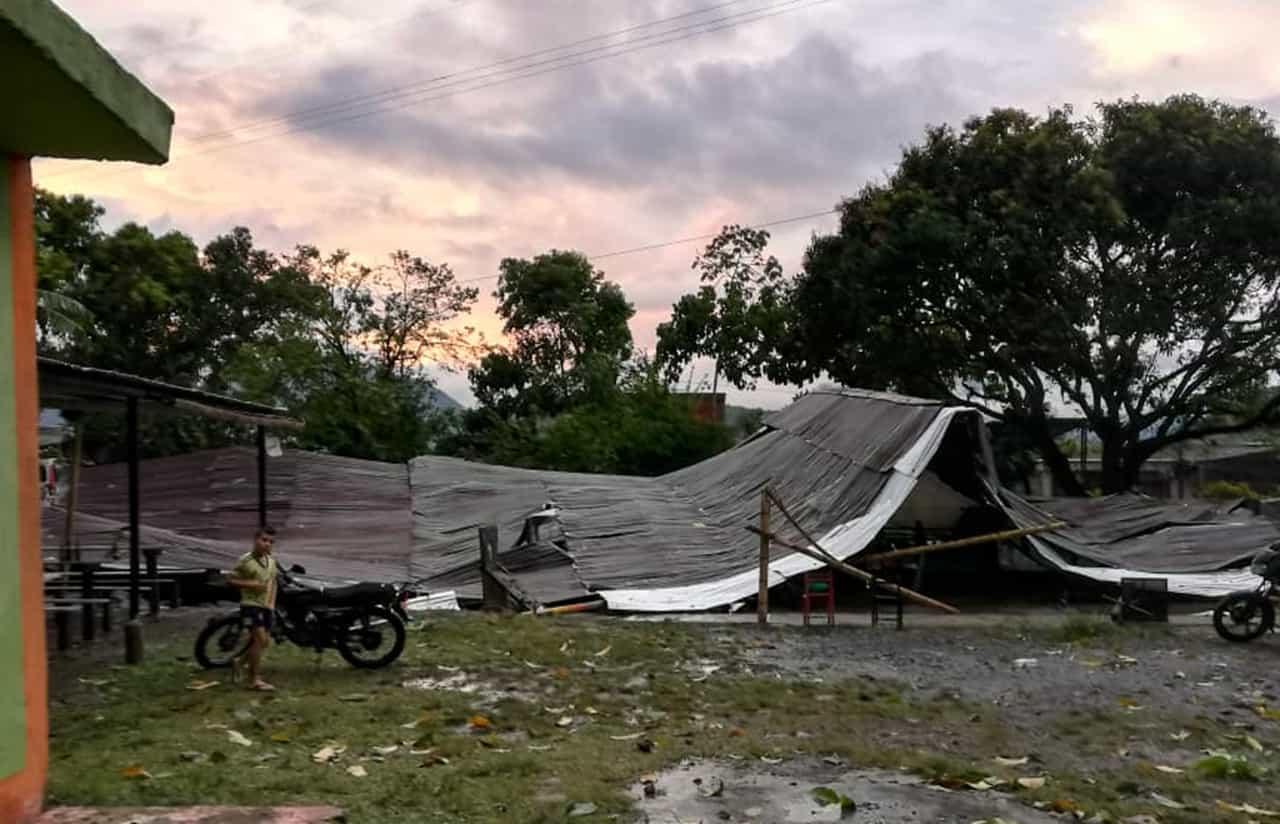 La tormenta que causó estragos ayer en Muzo 5