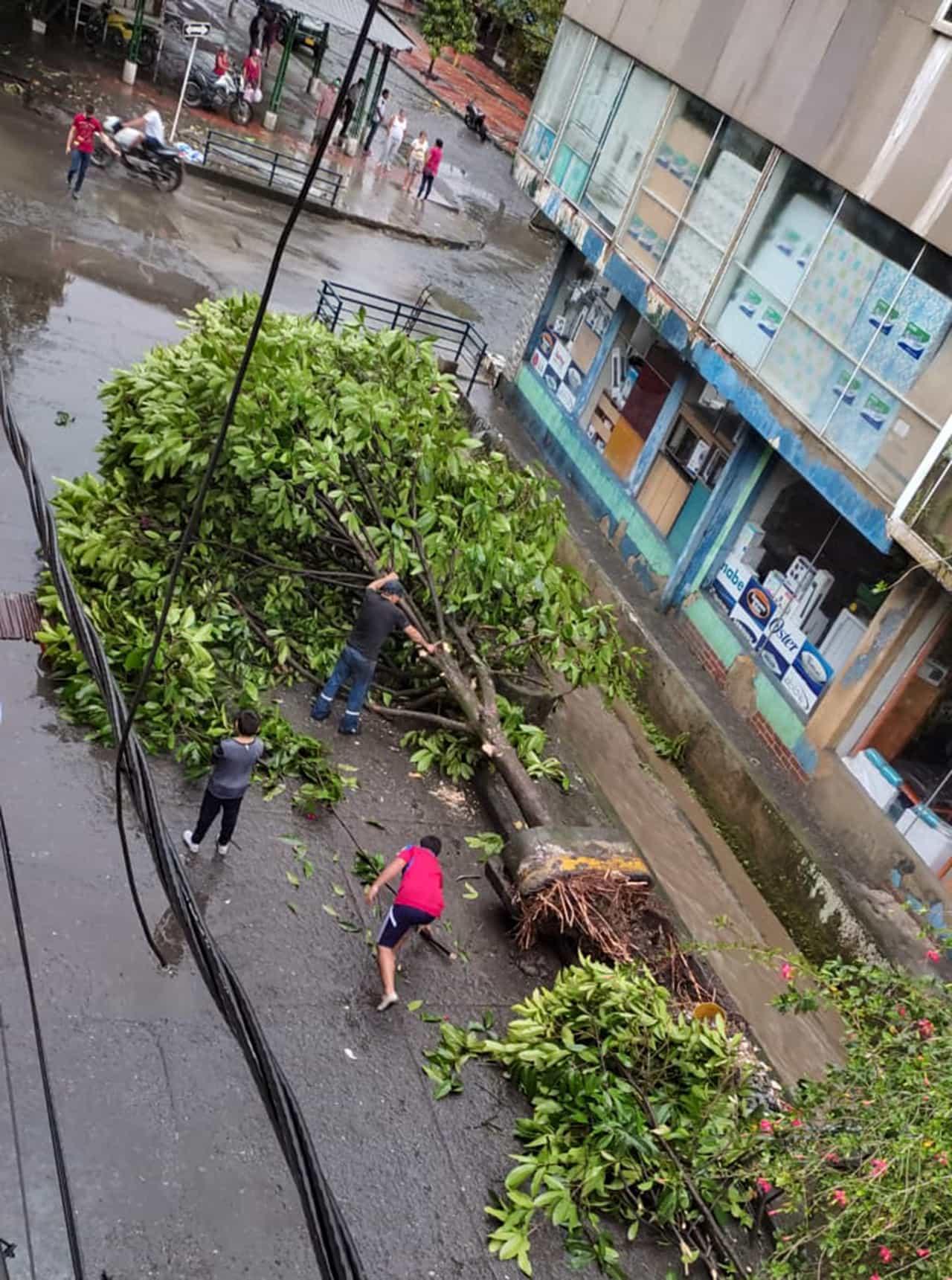 La tormenta que causó estragos ayer en Muzo 4