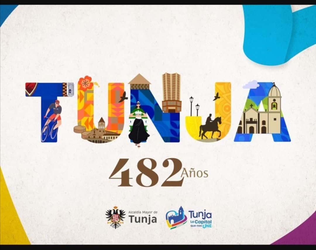 Así será la celebración de los 482 años de Tunja el próximo viernes 1