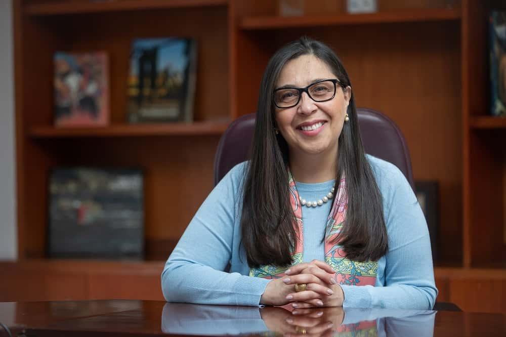 Sandra Sandoval, viceministra de Minas, habló con Boyacá Sie7e Días sobre la minería en el departamento. Foto: archivo particular