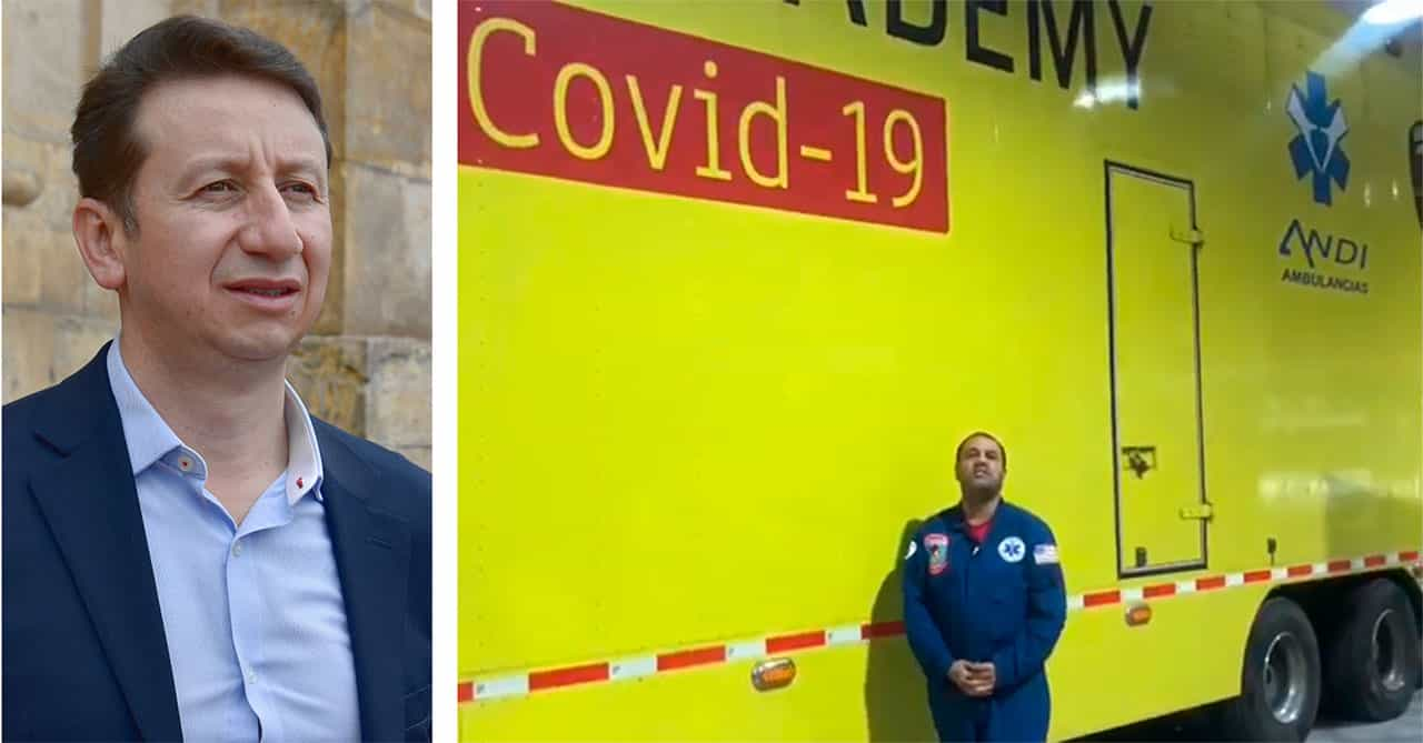 Lo prometido es deuda: Wilfredy Bonilla sí tendrá el parque COVID en Duitama #Tolditos7días 1